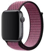 Ремешок Apple Watch 44mm Pink Blast/True Berry Nike Sport Loop (MWU42ZM/A)