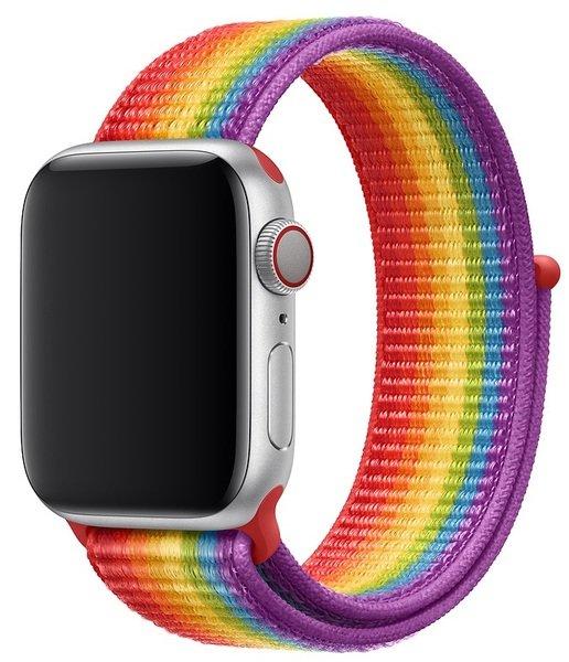 Купить Ремешки для Apple Watch, Ремешок Apple Watch 40mm Pride Edition Sport Loop (MV9Q2ZM/A)