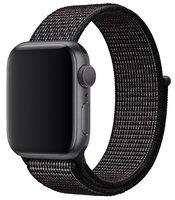 Ремешок Apple Watch 40mm Black Nike Sport Loop (MX7Y2ZM/A)