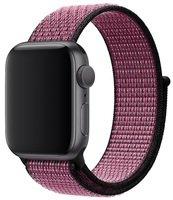 Ремешок Apple Watch 40mm Pink Blast/True Berry Nike Sport Loop (MWTW2ZM/A)