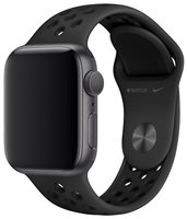 Ремешок Apple Watch 40mm Anthracite/Black Nike Sport Band S/M & M/L (MX8C2ZM/A)