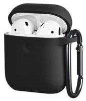 Чехол 2Е для Apple AirPods Pure Color Silicone (3mm) Black