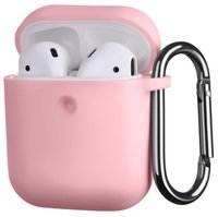 Чехол 2Е для Apple AirPods Pure Color Silicone (3mm) Light pink