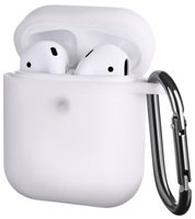 Чехол 2Е для Apple AirPods Pure Color Silicone (3mm) White