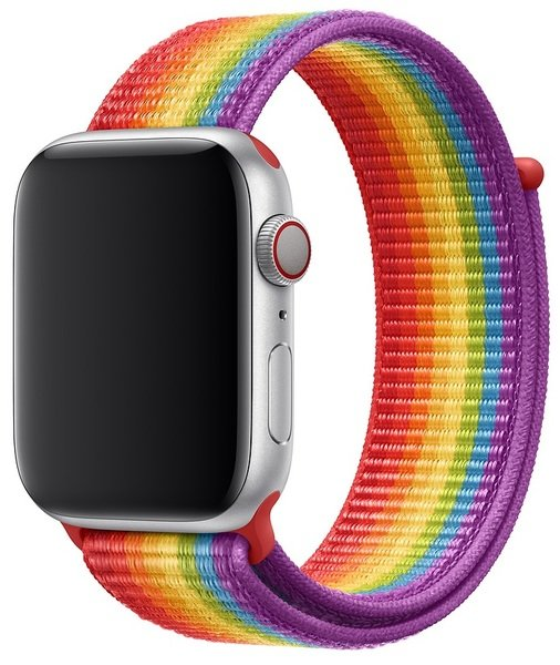 Купить Ремешки для Apple Watch, Ремешок Apple Watch 44mm Pride Edition Sport Loop (MV9T2ZM/A)