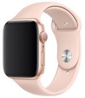 Ремешок Apple Watch 44mm Pink Sand Sport Band S/M & M/L (MTPM2ZM/A)