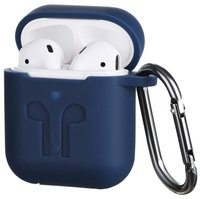 Чехол 2Е для Apple AirPods Pure Color Silicone (3mm) Imprint Navy