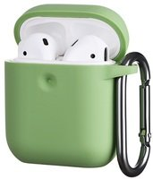 Чехол 2Е для Apple AirPods Pure Color Silicone (3mm) Light green