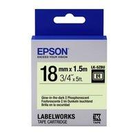 Картридж с лентой EPSON LK5ZBU принтеров LW-400/400VP/700 Glow Blk/Glw 18mm/1.5m (C53S655015)