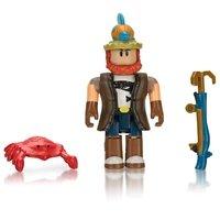 Игровая коллекционная фигурка Jazwares Roblox Core Figures Bootleg Buccaneers: Fisherman Joe W4 (ROG0114)