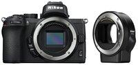 Фотоаппарат NIKON Z50 Body + FTZ Mount Adapter (VOA050K003)