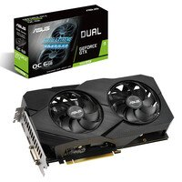 Вiдеокарта ASUS GeForce GTX1660 SUPER 6GB GDDR6 DUAL EVO OC (DUAL-GTX1660S-O6G-EVO)