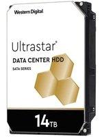 """Жесткий диск внутренний WD Ultrastar DC HC320 3.5"""" SATA 3.0 14TB 7200 512MB (WUH721414ALE6L4)"""