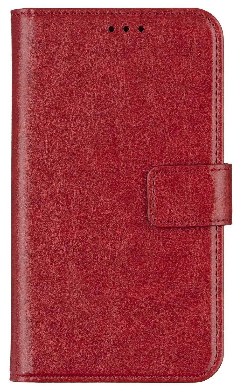 "Чехол 2E для смартфонов 5.5-6""(< 145*75*10 мм) Eco Leather Red фото 1"
