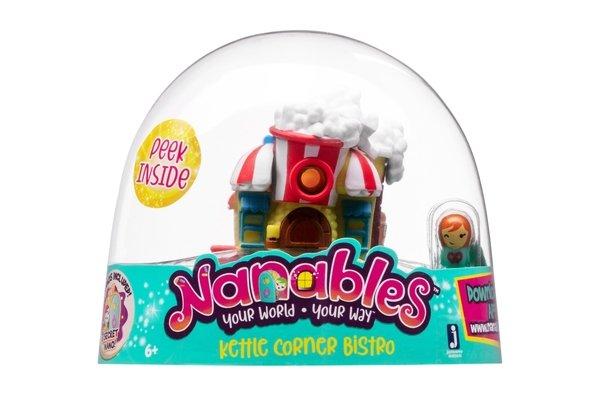 "Игровая фигурка Nanables Small House Город сладостей Бистро ""Попкорн"""