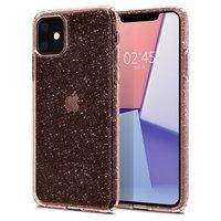 Чехол Spigen для iPhone 11 Liquid Crystal Glitter Rose Quartz
