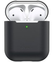 Чехол Baseus для Apple AirPods 1/2 Black
