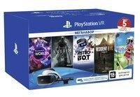 Очки виртуальной реальности SONY PlayStation VR MegaPack (5 игр в комплекте) (9998600)