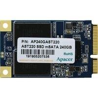 SSD накопитель APACER 240GB mSATA 3D TLC (AP240GAST220-1)