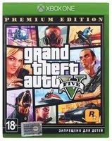 Игра Grand Theft Auto V Premium Online Edition (Xbox One, Русские субтитры)