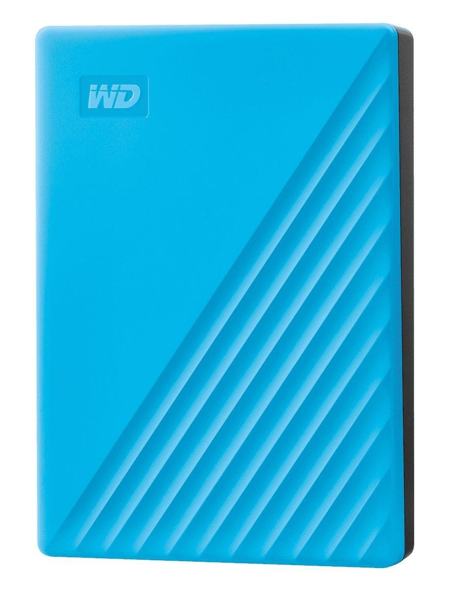 "Жесткий диск WD 2.5"" USB 3.2 Gen 1 4TB My Passport Blue (WDBPKJ0040BBL-WESN) фото"