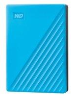 "Жесткий диск WD 2.5"" USB 3.2 Gen 1 4TB My Passport Blue (WDBPKJ0040BBL-WESN)"