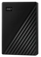 "Жесткий диск WD 2.5"" USB 3.2 Gen 1 4TB My Passport Black (WDBPKJ0040BBK-WESN)"