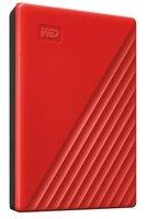 """Жесткий диск WD 2.5"""" USB 3.2 Gen 1 4TB My Passport Red (WDBPKJ0040BRD-WESN)"""