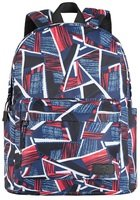 Рюкзак 2Е TeensPack Absrtraction Red/Blue