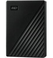 """Жесткий диск WD 2.5"""" USB 3.2 Gen 1 2TB My Passport Black (WDBYVG0020BBK-WESN)"""
