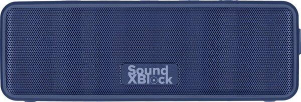 Портативная акустика 2E SoundXBlock TWS MP3 Wireless Waterproof Blue фото 1