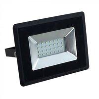 Прожектор уличный LED V-TAC SKU-5946, E-series, 20W, 230V, 3000К, черный (3800157625395)
