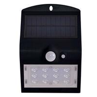 Светильник уличный LED Solar V-TAC SKU-8276, 1.5W, DC, 4000К, датчик движения, 1200mAh, черный (3800157627948)