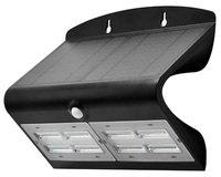 Светильник уличный LED Solar V-TAC SKU-8279, 6.8W, 4000К, датчик движения, 1200mAh, черный (3800157627962)