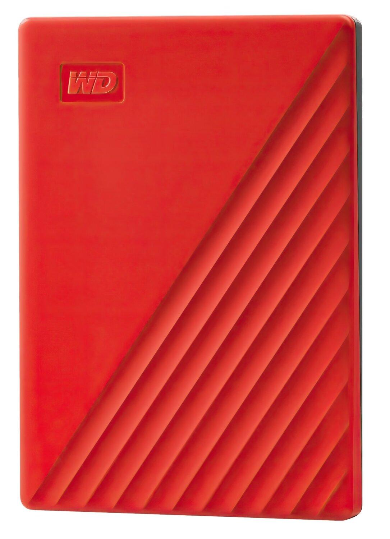 """Жесткий диск WD 2.5"""" USB 3.2 Gen 1 2TB My Passport Red (WDBYVG0020BRD-WESN) фото"""