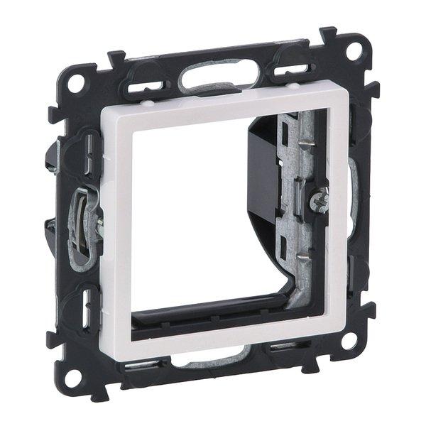 Купить Розетки и выключатели, Адаптер для механизмов Legrand Valena LIFE Mosaic, белый (752144)