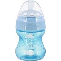 Пляшка для годування Nuvita NV6012 Mimic Cool 150мл 0м+Антиколікова, блакитна (NV6012SKY)