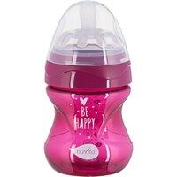 Бутылочка для кормления Nuvita NV6012 Mimic Cool 150мл 0м+ Антиколиковая, пурпурная (NV6012PURPLE)