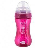 Бутылочка для кормления Nuvita NV6032 Mimic Cool 250мл 3м+ Антиколиковая, пурпурная (NV6032PURPLE)