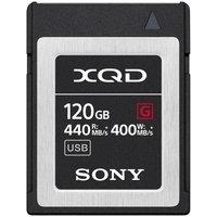 Карта памяти Sony 120GB XQD G Series R440MB/s W400MB/s (QDG120F)