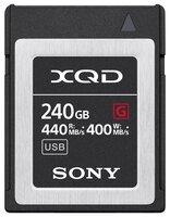 Карта памяти Sony 240GB XQD G Series R440MB/s W400MB/s (QDG240F)