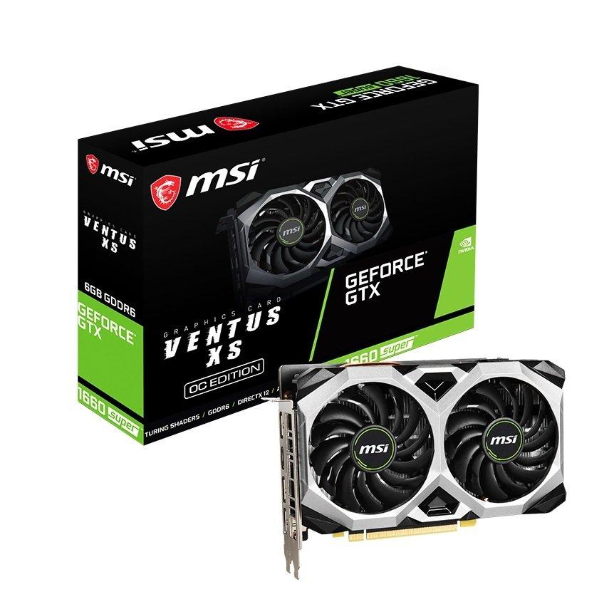 Відеокарта MSI GeForce GTX1660 SUPER 6GB GDDR6 VENTUS XS OC (GTX1660_SUPER_VENT_XS_OC) фото1