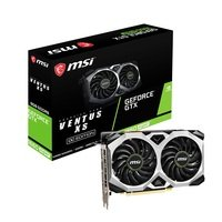 Відеокарта MSI GeForce GTX1660 SUPER 6GB GDDR6 VENTUS XS OC (GTX1660_SUPER_VENT_XS_OC)