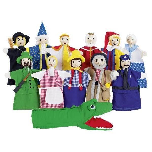 Купить Куклы, Набор кукол-перчаток goki (SO450)