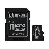 Карта памяти Kingston microSDHC 32GB Class 10 UHS-I R100MB/s + SD-адаптер
