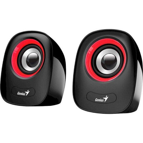 Купить Компьютерная акустика, Акустическая система Genius 2.0 SP-Q160 USB Red