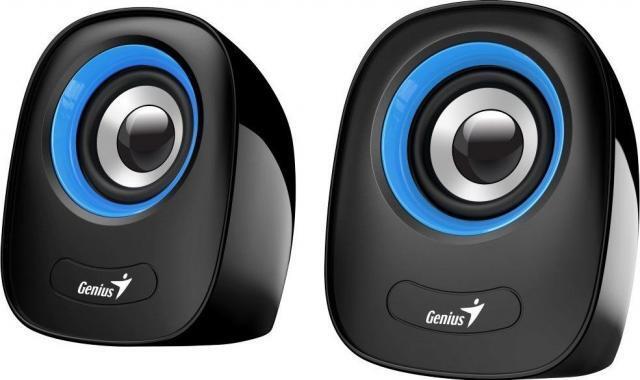 Акустична система Genius 2.0 SP-Q160 USB Blueфото1