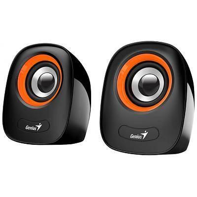Акустична система Genius 2.0 SP-Q160 USB Orangeфото1