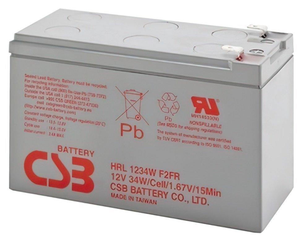 Акумуляторна батарея CSB 12V 9Ah (HRL1234WF2FR) фото