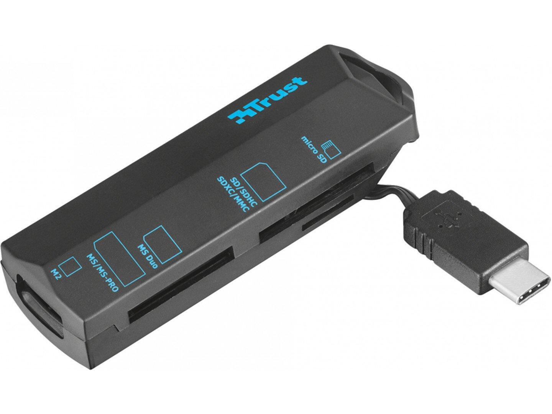 Кардрідер TRUST USB Type-C BLACK фото1